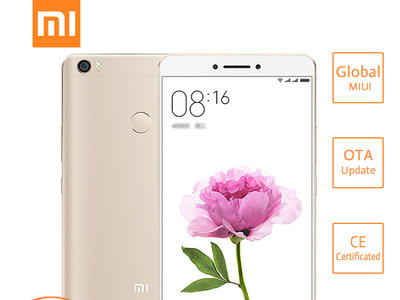 Xiaomi Mi Max 32GB International Edition por 166,39 euros y envío gratis
