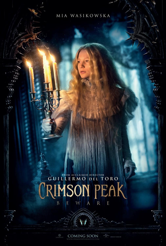 Foto de 'La Cumbre Escarlata', carteles de la película de Guillermo del Toro (4/12)