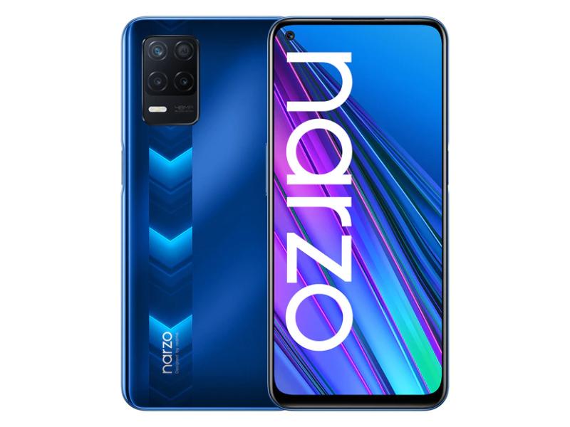 realme Narzo 30 5G Smartphone versión Global 4GB 128GB de la dimensión 700 5G 6,5 ''90Hz pantalla 48MP 5000mAh Cámara