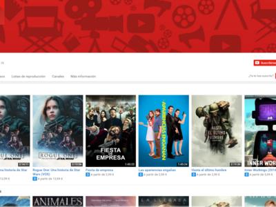 ¿Un videoclub en streaming gratis pero con publicidad? YouTube quiere probar este modelo de negocio