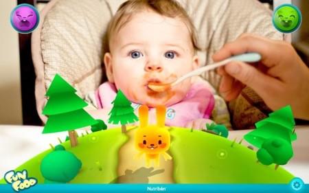 Nutribén Fun Food te ayudará a dar de comer a los más peques de la casa con tu tablet Android