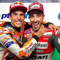 """Andrea Dovizioso todavía no renuncia a ocupar la moto de Marc Márquez: """"Si Honda llama, estará preparado"""""""