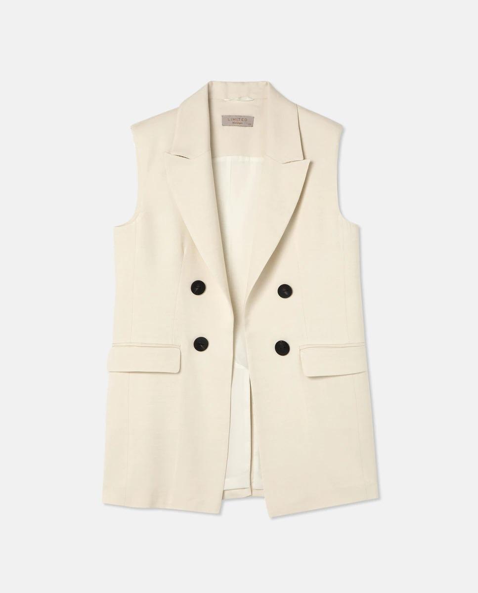 Chaleco de vestir de mujer botones de Woman Limited El Corte Inglés