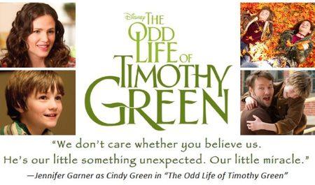El cartel de La Extraña Vida de Timothy Green