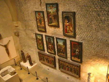 El Museo Nacional de la Edad Media (Cluny) en París