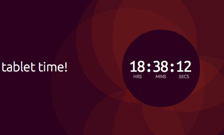 Ubuntu pone en marcha una cuenta atrás, ahora es el tiempo para las tablets