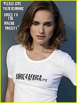 Natalie Portman quiere tus viejas zapatillas