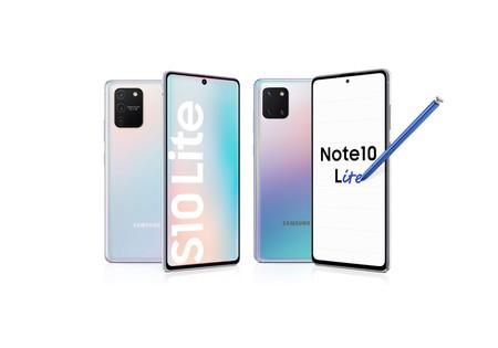 """Galaxy S10 Lite y Note 10 Lite: Samsung revive los """"Lite"""" con triple cámara, agujero en la pantalla y grandes baterías para 2020"""