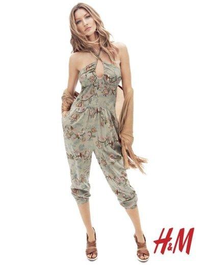 El look de Gisele Bundchen para H&M esta primavera 2011