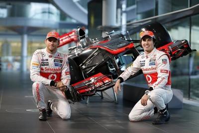 Presentado el McLaren MP4-28 de Jenson Button y Sergio Pérez