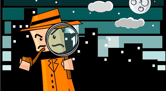 Detective buscando canal WiFi
