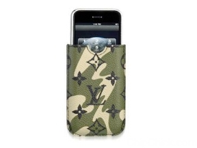 Funda de iPod y iPhone camuflada de Louis Vuitton