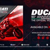 Hoy se estrena el videojuego con el que Ducati celebra su 90 aniversario. ¡Me lo pido!
