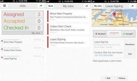 Google Maps Coordinate llega también al iPhone para ayudar a la coordinación de flotas
