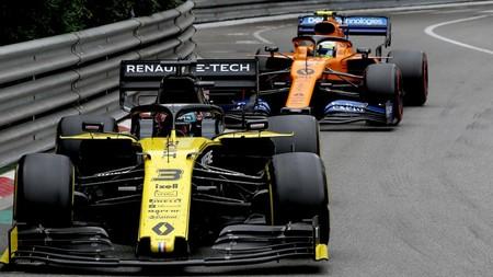Ricciardo Norris Monaco F1 2019