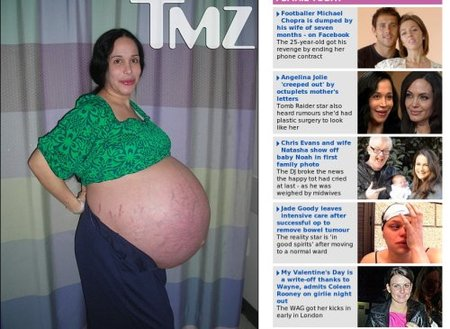 Embarazo octillizos California