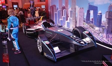 Conoce el coche de la Fórmula E este fin de semana en Barcelona