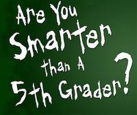 ¿Eres más listo que un niño de 5º?