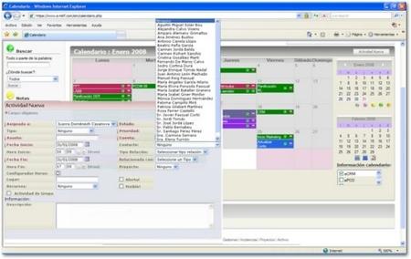 MKF, CRM a través de Internet para pymes