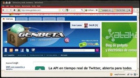 Personalización de la interfaz de Firefox pareciéndose a la de IE9