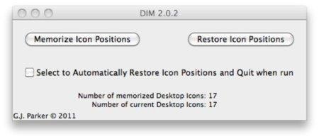 Desktop Icon Manager, organiza de forma permanente los iconos del escritorio