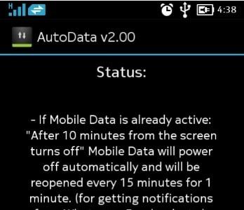 AutoData, una aplicación para regular nuestra conexión ahorrando datos y batería