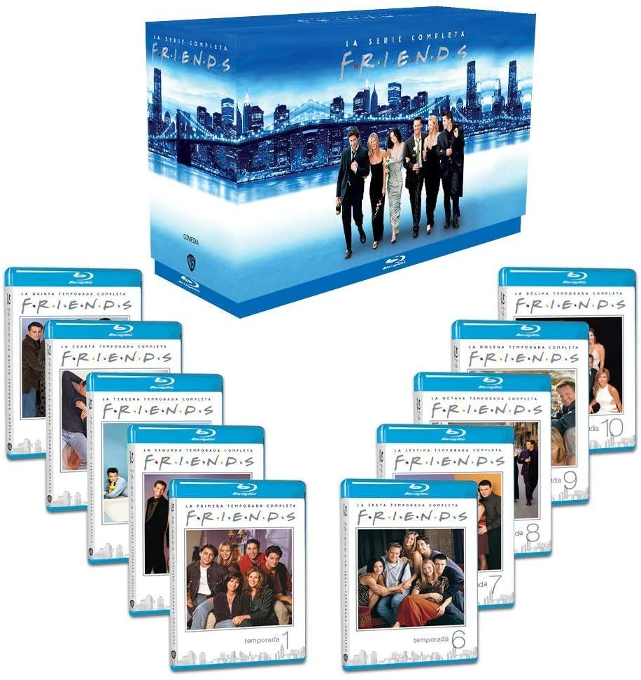 Paquete Friends T1 - T10 (Blu Ray) Caja dura