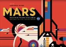 El maravilloso arte retro de los nuevos pósters turísticos de la NASA