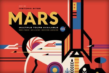 El maravilloso arte retro de los nuevos pósters turísticos de la NASA [Actualizado: ¡Nuevos pósters!]