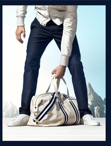 Bally, bolsa de viaje para hombre sport-chic