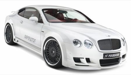 Bentley Imperator, una obra de Hamann