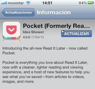 Read It Later se reinventa como Pocket