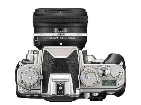 Nikon Df - Vista superior