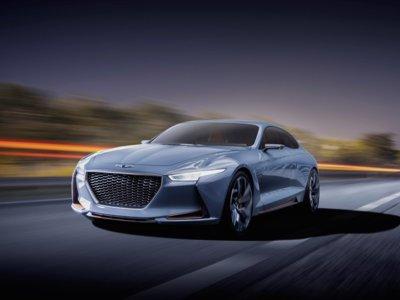 Genesis New York Concept. ¡Cuidado, BMW, ahí vienen los coreanos!