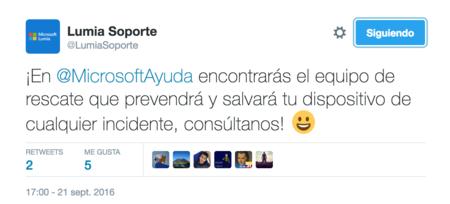 Lumia Soporte