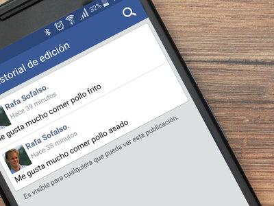 Cómo saber si alguien ha editado una publicación en Facebook