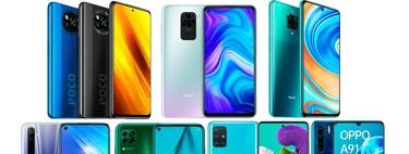 Xiaomi Poco X3 NFC contra su competencia: lo enfrentamos al Redmi Note 9 Pro, Realme 6 y otros Android de precio similar