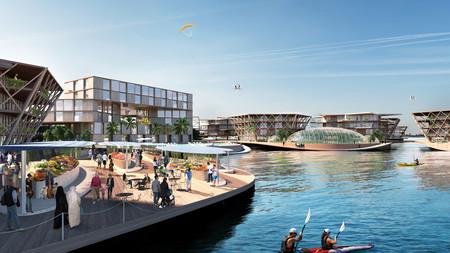 Ciudad flotante y ecológica