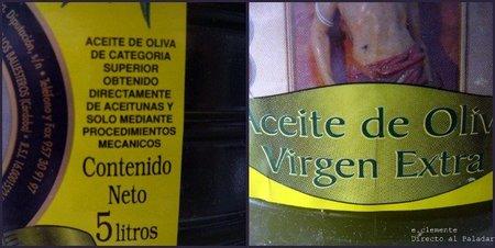 Aceite de oliva virgen extra 3
