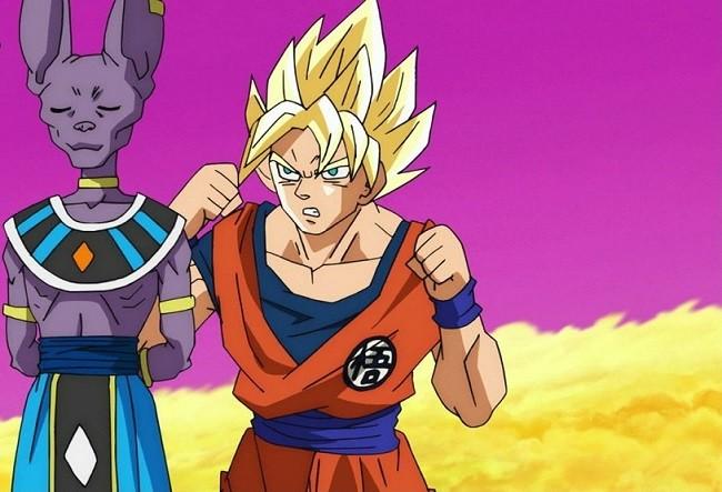 Scene 'Dragon Ball Super'?