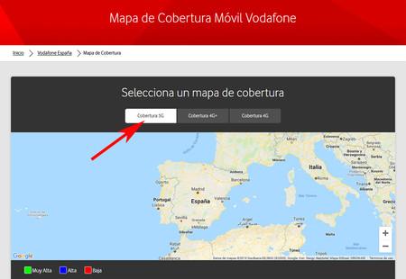Vodafone 5g Mapa