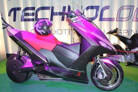 T-Logic Navigator, Scooter eléctrico de altas prestaciones