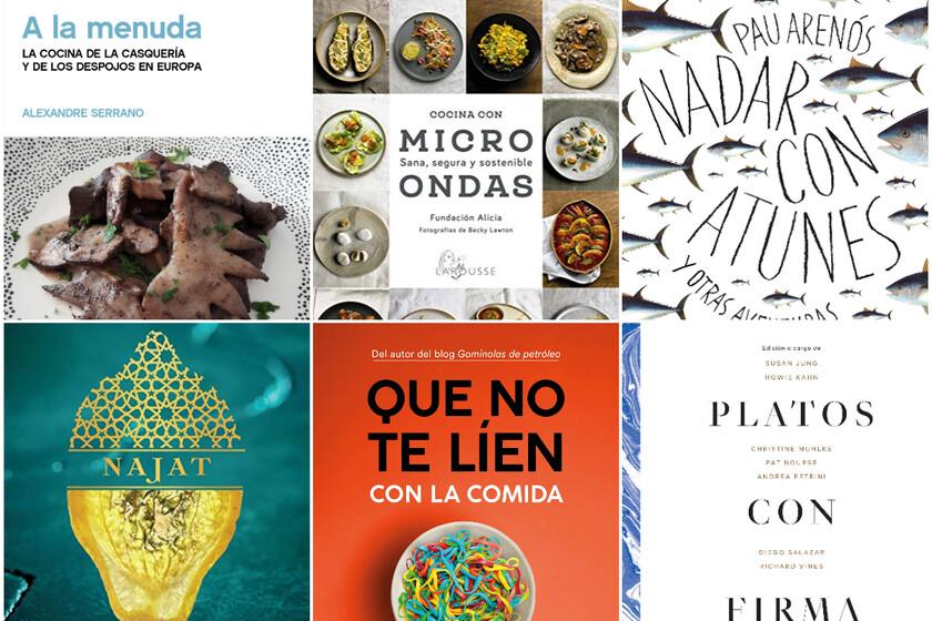Seis libros de cocina y gastronomía para regalar (o autorregalarse) en Sant Jordi
