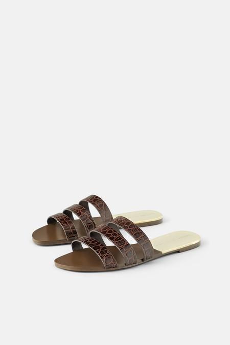 Sandalias Planas Zara 2019 04