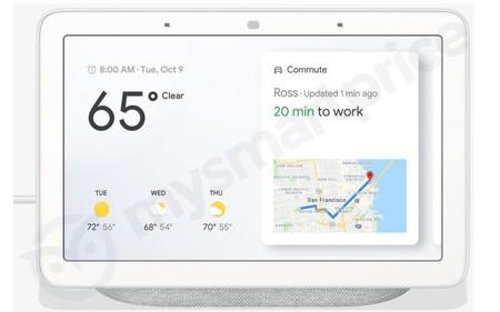 Google Home Hub Leak Front