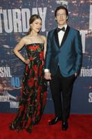Andy Samberg y señora