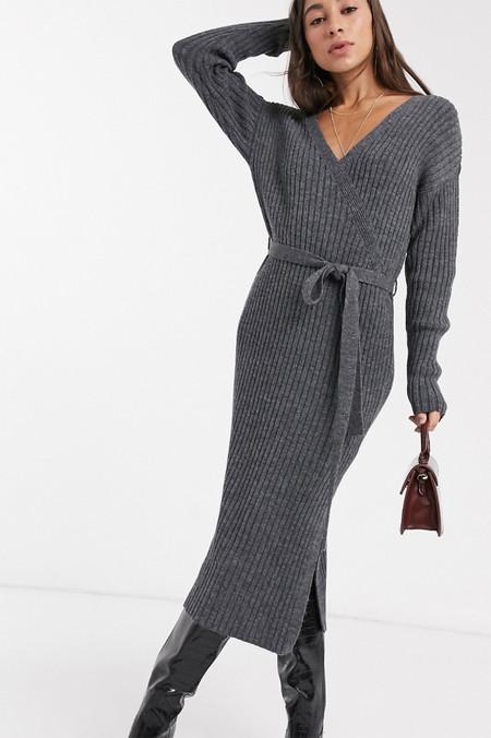 Vestido Midi Punto