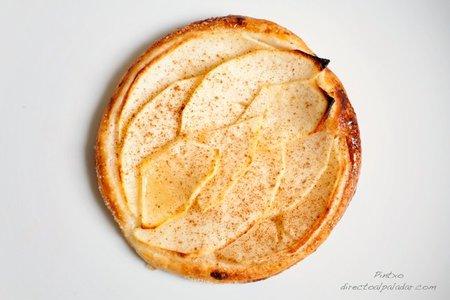 Receta de tarta rápida de manzana