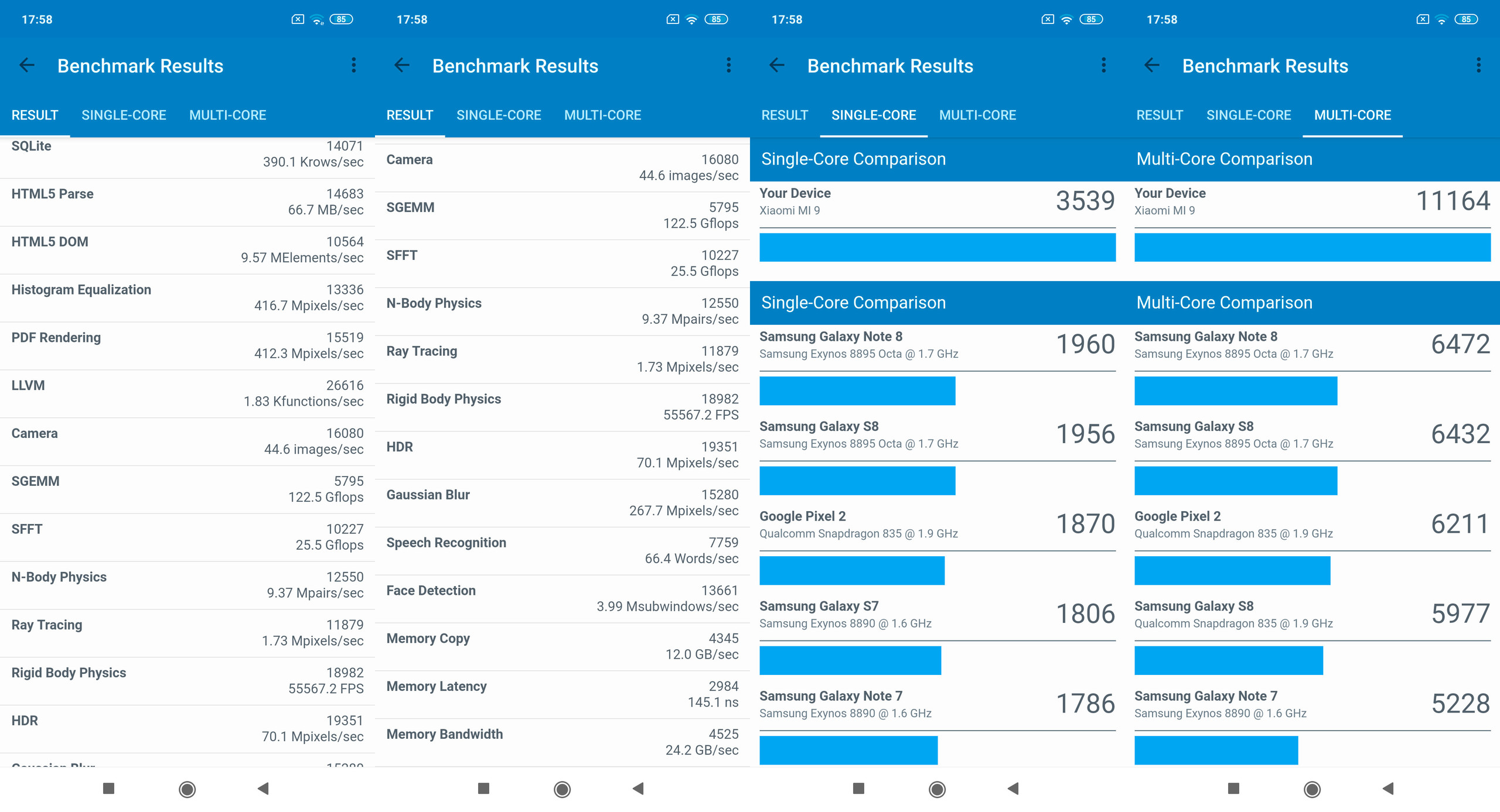Foto de Xiaomi Mi 9, benchmarks (3/5)