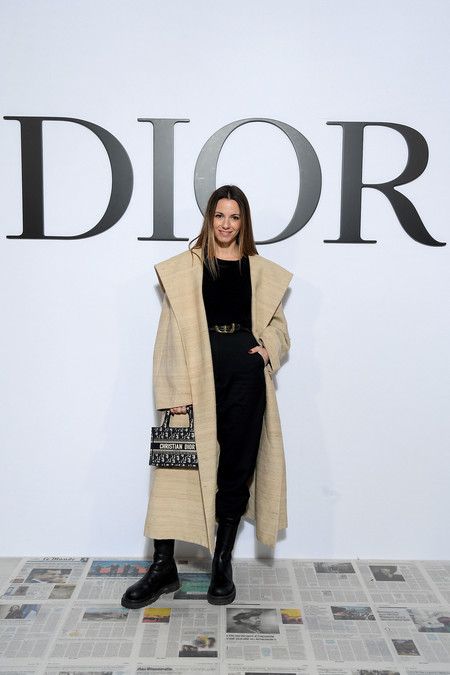 Dior Ready To Wear Autumn Winter 2020 Photocall Zina Charkoplia